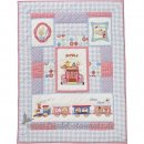 Room Seven - Quilt 90x125, Happy Family Zug & Tiere l...